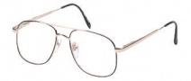 Hilco OG 016 Eyeglasses Eyeglasses - Gold Black