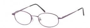 Hilco OG 087 Eyeglasses Eyeglasses - Plum Chrome