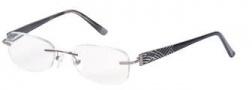 Hilco Frameworks 600 Eyeglasses Eyeglasses - Black White