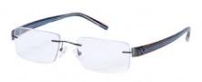 Hilco Frameworks 605 Eyeglasses Eyeglasses - Gunmetal