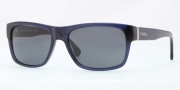 Brooks Brothers BB5011 Sunglasses Sunglasses - 607087 Dark Blue / Blue Grey Solid