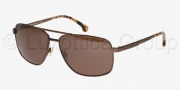 Brooks Brothers BB4014S Sunglasses Sunglasses - 162973 Brushed Bronze / Brown Solid