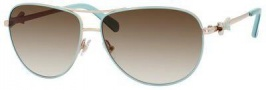 Kate Spade Circe/S Sunglasses Sunglasses - 0DH7 Mint Green / Cream (Y6 brown gradient lens)