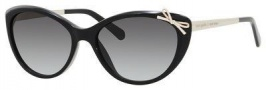 Kate Spade Livia 2/S Sunglasses Sunglasses - 0807 Black (Y7 gray gradient lens)