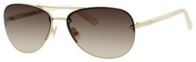 Kate Spade Beryl/S Sunglasses Sunglasses - 0AU2 Rose Gold (Y6 brown gradient lens)
