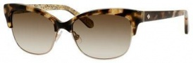 Kate Spade Shira/S Sunglasses Sunglasses - 0ESP Camel Tortoise (Y6 brown gradient lens)