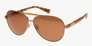Ralph by Ralph Lauren RA4110 Sunglasses Sunglasses - 303883 Shiny Brown / Orange Tortoise / Brown Solid Polarized