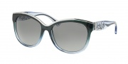 Ralph by Ralph Lauren RA5178 Sunglasses Sunglasses - 123011 Black Grey Gradient / Grey Gradient