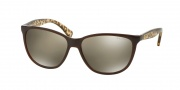 Ralph Lauren RA5179 Sunglasses Sunglasses - 12575A Dark Brown / Gold Gradient Flash