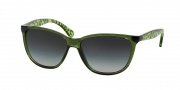Ralph Lauren RA5179 Sunglasses Sunglasses - 125811 Green Translucent / Grey Gradient