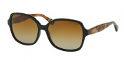 Ralph by Ralph Lauren RA5186 Sunglasses Sunglasses - 1343T5 Black / Orange Tortoise / Brown Gradient Polarized