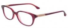 David Yurman DY106 Chevron Eyeglasses Eyeglasses - 06RG Garnet with Rose Gold