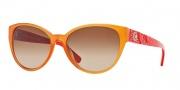 Versace VE4272 Sunglasses Sunglasses - 510013 Orange / Brown Gradient