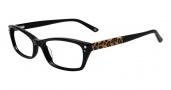 Bebe BB5065 Eyeglases Hot Stuff Eyeglasses - Jet Black