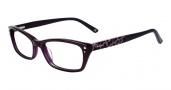 Bebe BB5065 Eyeglases Hot Stuff Eyeglasses - Plum Purple
