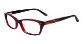 Bebe BB5065 Eyeglases Hot Stuff Eyeglasses - Ruby Red