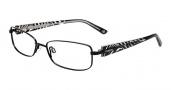 Bebe BB5056 Eyeglasses Glitters Eyeglasses - Black Jet