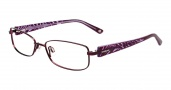 Bebe BB5056 Eyeglasses Glitters Eyeglasses - Plum Purple