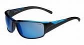 Bolle Keelback Sunglasses Sunglasses - 11903 Shiny Black / Blue Translucent / Polarized Blue oleo AF