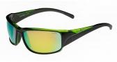 Bolle Keelback Sunglasses Sunglasses - 11904 Shiny Black / Green Translucent / Polarized Brown oleo AF