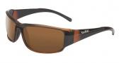Bolle Keelback Sunglasses Sunglasses - 11905 Matte Brown / Polarized AG-14 oleo AF