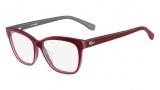 Lacoste L2723 Eyeglasses Eyeglasses - 615 Red