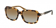 Coach HC8104 Sunglasses Ashley Sunglasses - 5230T5 Spotty Tortoise / Brown Gradient Polarized