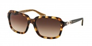 Coach HC8104 Sunglasses Ashley Sunglasses - 523013 Spotty Tortoise / Brown Gradient