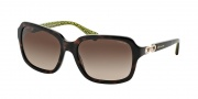 Coach HC8104 Sunglasses Ashley Sunglasses - 523213 Dark Tortoise / Dark Brown Gradient