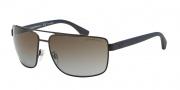 Empori Armani EA2018 Sunglasses Sunglasses - 3049T5 Matte Brown / Polarized Brown Gradient