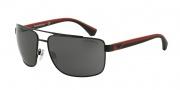 Empori Armani EA2018 Sunglasses Sunglasses - 300187 Matte Black / Grey