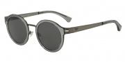Emporio Armani EA2029 Sunglasses Sunglasses - 300387 Matte Gunmetal / Grey Lens