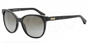 Emporio Armani EA4016 Sunglasses Sunglasses - 50018E Matte Black / Black / Green Gradient
