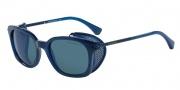 Emporio Armani EA4028Z Sunglasses Sunglasses - 520896 Blue / Dark Grey