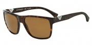 Emporio Armani EA4035 Sunglasses Sunglasses - 502683 Dark Havana / Polarized Brown Gradient