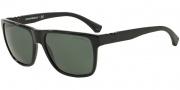Emporio Armani EA4035 Sunglasses Sunglasses - 501771 Black / Grey Green