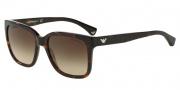 Emporio Armani EA4042F Sunglasses Sunglasses - 502613 Havana / Brown Gradient