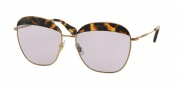 Miu Miu 53QS Sunglasses Sunglasses - 7S03F2 Light Havana / Lilac