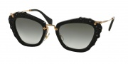 Miu Miu 04QS Sunglasses Sunglasses - 1AB0A7 Black / Grey Gradient