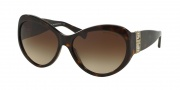 Michael Kors MK2002MB Sunglasses Paris Sunglasses - 300613 Dark Tortoise / Brown Gradient
