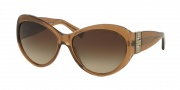 Michael Kors MK2002MB Sunglasses Paris Sunglasses - 304713 Light Brown / Brown Gradient