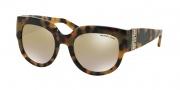 Michael Kors MK2003B Sunglasses Villefranche Sunglasses - 30136E Vintage Tortoise / Gold Mirror Gradient