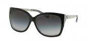 Michael Kors MK2006 Sunglasses Taormina Sunglasses - 303311 Black / Crystal / Grey Gradient
