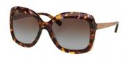 Michael Kors MK2007 Sunglasses Key West Sunglasses - 303268 Sunset Confetti Tortoise / Brown Purple Gradient