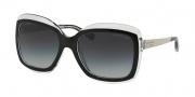 Michael Kors MK2007 Sunglasses Key West Sunglasses - 303311 Black / Crystal / Grey Gradient