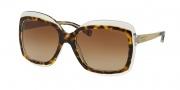 Michael Kors MK2007 Sunglasses Key West Sunglasses - 303413 Tortoise / Crystal / Brown Gradient