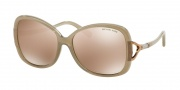 Michael Kors MK2010B Sunglasses Bora Bora Sunglasses - 3043R1 Gray / Rose Gold Flash