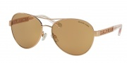 Michael Kors MK5003 Sunglasses Cagliari Sunglasses - 1003R1 Rose Gold / Rose Gold Flash