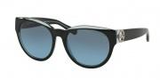 Michael Kors MK6001B Sunglasses Bermuda Sunglasses - 300117 Black / Blue / Grey Blue Gradient