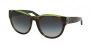 Michael Kors MK6001B Sunglasses Bermuda Sunglasses - 300211 Tortoise / Green / Grey Gradient